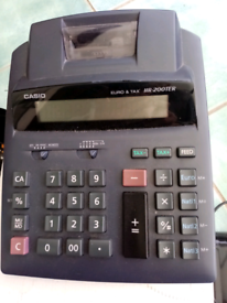 Casio HR 200TER desktop calculator