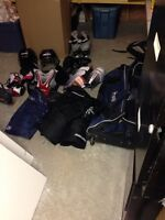 Hockey gear youth size large