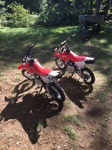 Two 2016 Honda Honda 50cc