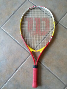 Wilson titanium U.S. Open youth tennis racquet