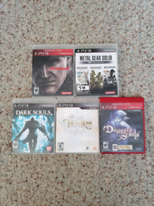Metal gear solid, Ni No Kuni, Demons souls