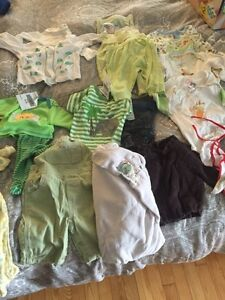 Lot of unisex baby clothes