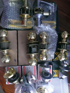 new Taymor or Schlage knobs lever sets