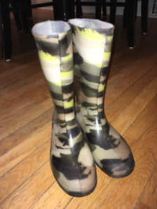Like New- Rain Boots- Size 6 Women