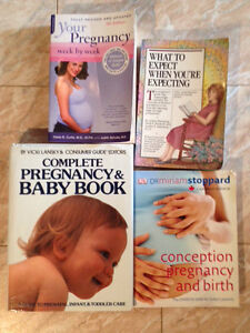 Pregnancy /baby care/ parenting books
