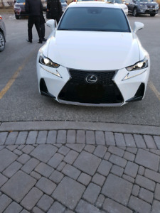 2017 Lexus IS 300 F Sport series 2 Lease Takeover