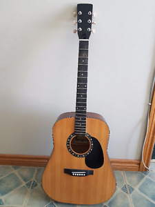 Guitar with not strings