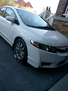 2009 HONDA CIVIC - LEATHER SEATS HEATED LOW KM