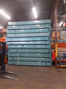 USED REDI RACK PALLET RACKING BEAMS 13' LONG