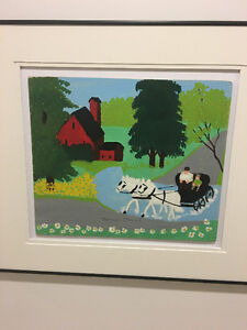 Maud Lewis Carriage Painting