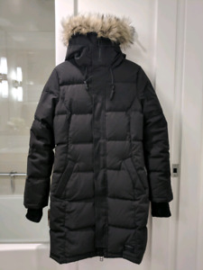 TNA Auclair Parka by Golden Black Size Medium Women