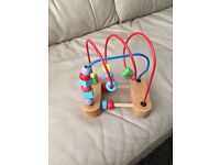 Baby wooden toy-£4