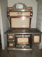 Antique wood burning cook stove...