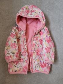 3-6 fleece lined jacket