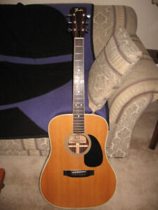 1978 Fender F75 Acoustic Guitar (SOLD PPU)