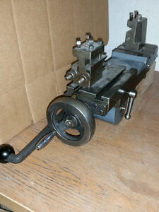 LEVER-ACTION CUT-OFF SLIDE w/rack-and-pinion drive