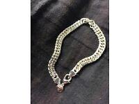 925 stamped silver bracelet