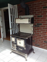 Wood Burning Antique Elmira Cook Stove