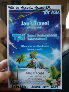 Travel vocure. Make an offer!!!!
