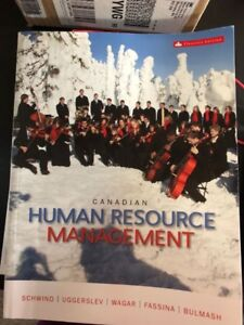 Canadian Human Resource Management    11 edition