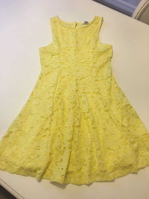 River Island Girl Yellow Lace Dress Age 9 10 In Whittle Le Woods Lancashire Gumtree