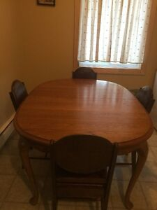 Kitchen Table Set- Very Solid Wood
