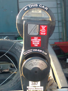 Duncan single head parking meter