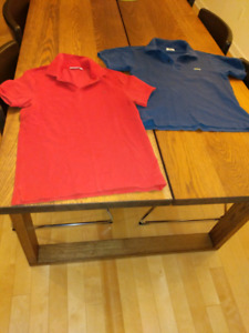 Lacoste and J. Lindeberg polo shirt men Small