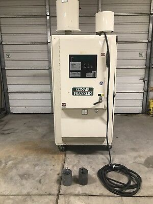 Conair Franklin Material Dryer Model Cd400 Injection Molding Air Dryer For Press