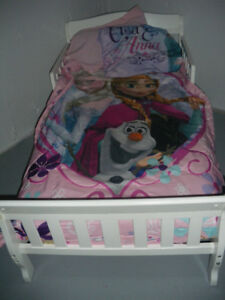 Toddler Bed and Extras