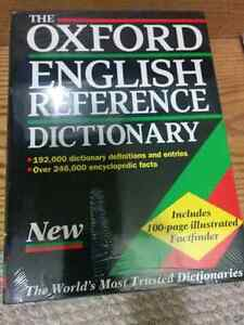 The Oxford reference dictionary** brand new**