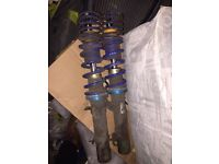 AP COILOVERS MK4 golf - fronts only - vag lowered Volkswagen kw spring seat