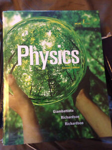 Physics textbook Giambattista, Richardson Kitchener / Waterloo Kitchener Area image 1