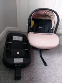 Silver cross Simplicity Plus Baby Car Seat and Isofix base