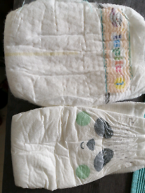 Free 2 first size nappies
