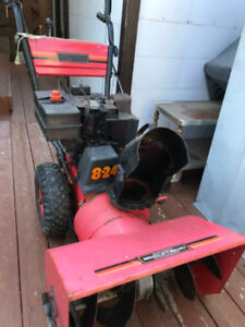 """8HP/24"""" Mastercraft Snowblower for sale with ELECTRIC START"""