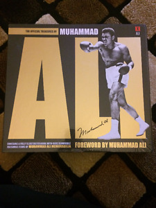 The Official Treasures of Muhammad Ali Hard Cover Book