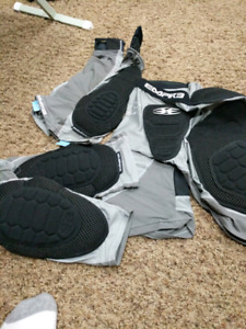 Empire elbow, kneepads and slide shorts.