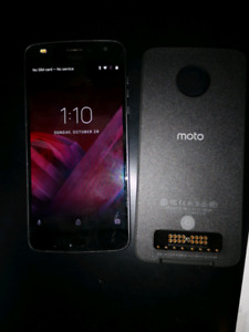 Moto Z2 play only works as a tablet