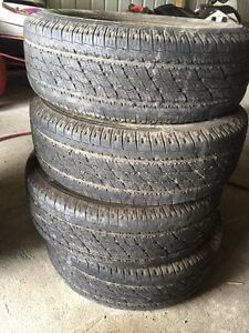 (4) Toyo Open Country 225/70 R15
