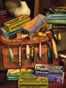 Vintage Fishing Lures Wanted!!!