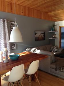 Chalet Pointe Taillon Lac St-Jean: location à la semaine