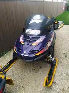 Part out 1998 Skidoo formula 3 700
