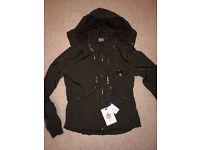 Mens Khaki Green CP Company Google jacket DD shall Brand new with tags