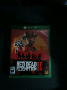 Mint condition Red Dead Redemption 2 Xbox one