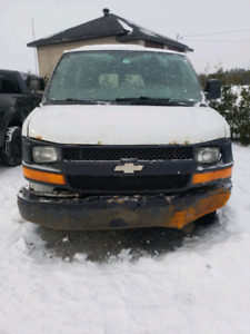 Chevrolet express 2500 2008 allongée