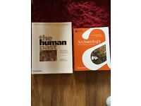 TWO HARDLY USED ARCHAEOLOGY BOOKS PERFECT FOR STUDENTS £30 FOR TWO
