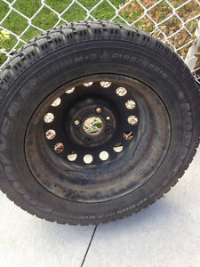 Goodyear Nordic Winter Tires  P195/65R15  with Rims London Ontario image 1