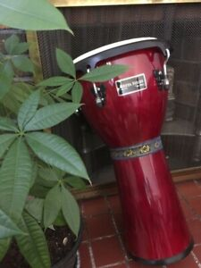 LARGE DJEMBE PERCUSSION HAND DRUM FOR SALE