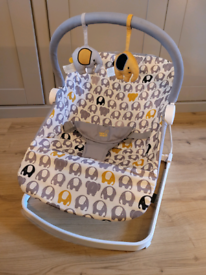 BabaBing! Float Baby Bouncer - Ellie the Elephant